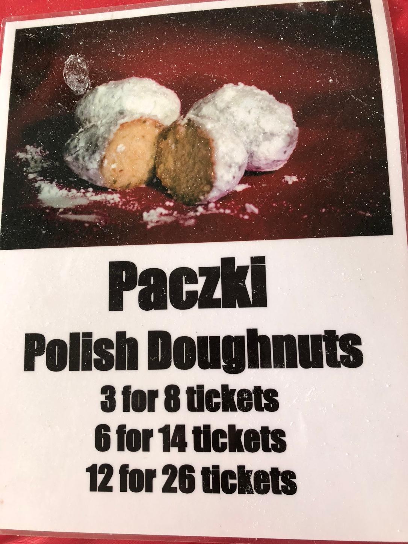 Paczki Polish Doughnut Sign